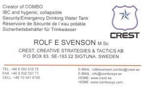 Svenson, Rolf 1897814 - Business