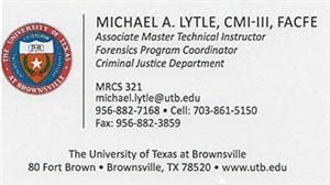 Lytle, Michael - B.Card
