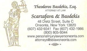Basdekis, Theodoros - B.card
