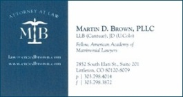 Brown, Martin - Bus Card