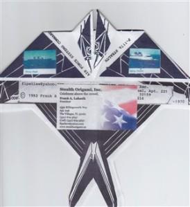 Lukasik, Frank - Stealth Logo