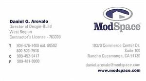 Arevalo, Daniel - b.card