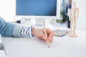 art-graphic-design-woman-pencil-business
