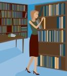 education-librarian-cartoon